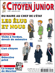 Citoyen Junior n° 34 - Septembre 2013